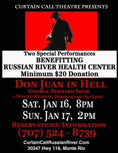 Don Juan in Heal fundraiser event