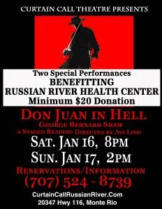 Don Juan in Heal fundraiser event