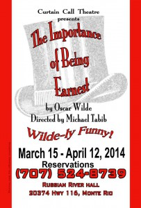 The Importance of the Earnest poster