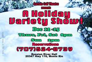 A Holiday Variety Show Front