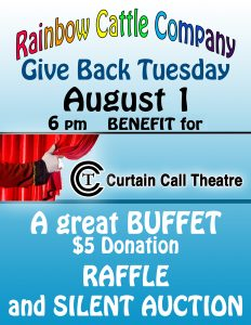 Give Back Tuesday August 1