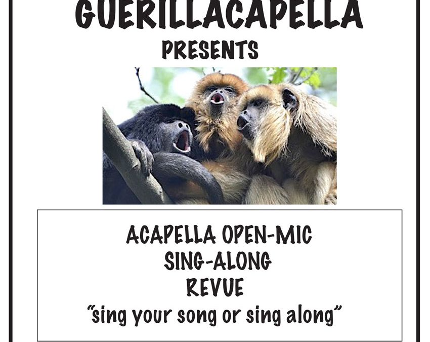 Guerillacapella at Curtain Call Theatre