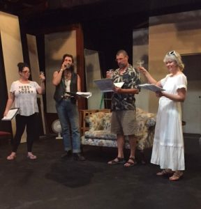 The Haunting of Hill House Rehearsal at the Hall