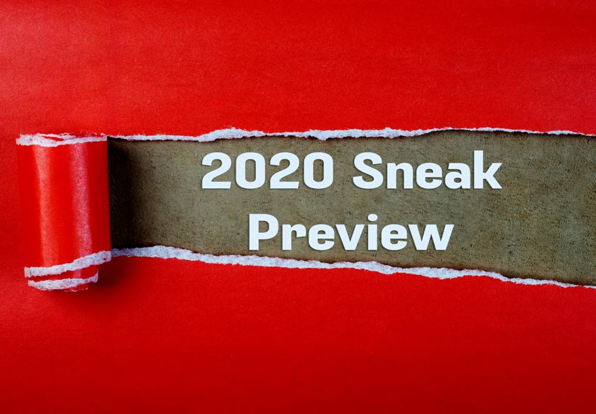 Russian River Hall 2020 Season Sneak PreviewRussian River Hall 2020 Season Sneak Preview
